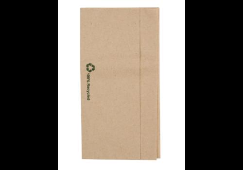 Serviettes kraft recyclées pliées pour distributeur | 320x300mm | (lot de 6000)