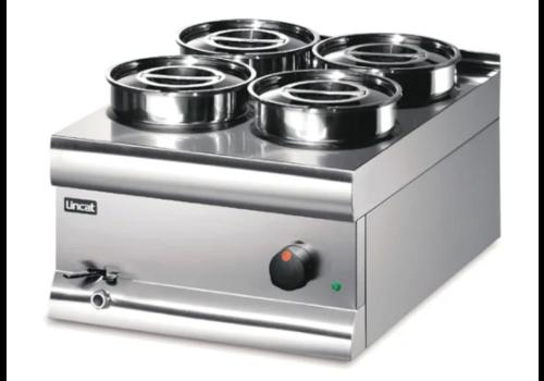 Lincat Bain-Marie 4 pots Silverlink 600 BS4W