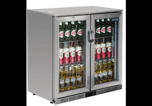 ProChef Arrière-bar deux portes pivotantes inox  | Série G |  208L