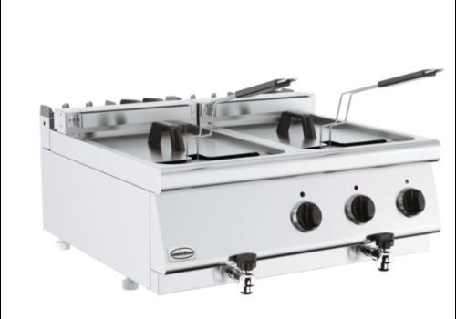 Combisteel Friteuse électrique 20 L | Base 700 | 800x700x300mm