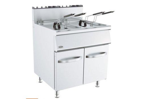 Combisteel Friteuse à gaz | 800x700x900mm