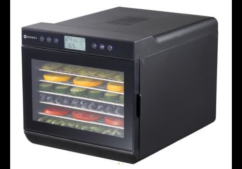 Hendi Déshydrateur avec 7 Plateaux | Inox | 500W | 345x450x(h)315 mm | 35° à 70°C