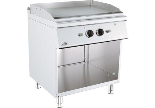 ProChef Plaque grill à gaz   126 kg   13 kW   Chrome