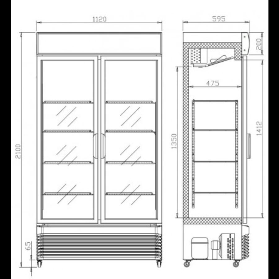 Armoire à Boisson Réfrigérée | 780 L