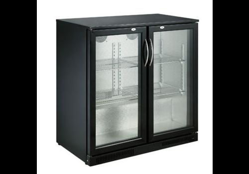 ProChef Arrière de bar | 2 portes | Noir