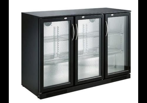 ProChef Réfrigérateur Bar | 3 portes | Noir