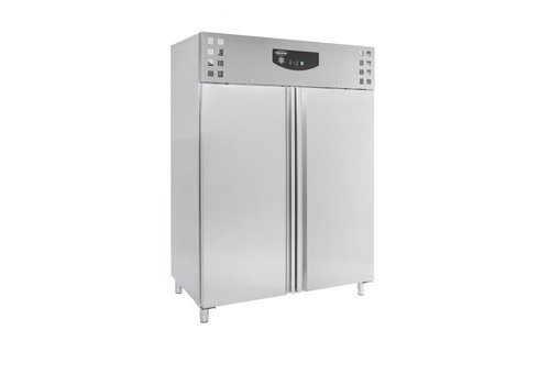 ProChef Réfrigérateur | 2 portes | acier inoxydable | verrouillable