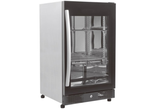 ProChef Réfrigérateur de Bar | Vitrée | Noir