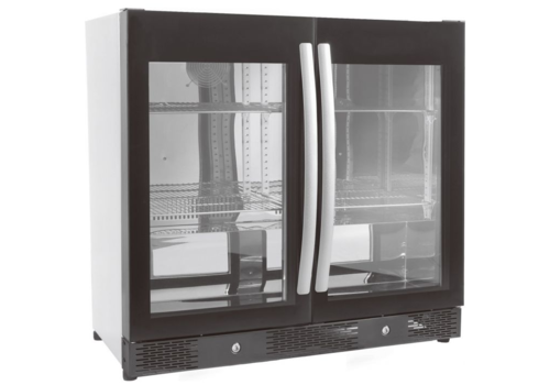 ProChef Réfrigérateur de Bar | 2 portes | Noir