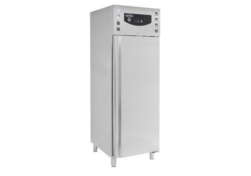 ProChef Réfrigérateur | 1 porte | Acier inoxydable