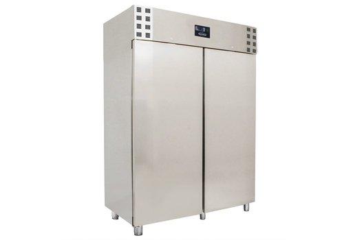 ProChef Réfrigérateur 2 portes   Acier inoxydable
