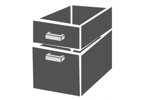 Combisteel Bloc de tiroirs 2/3 standard