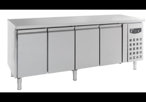 Combisteel Table réfrigérée positive 600 | 4 portes