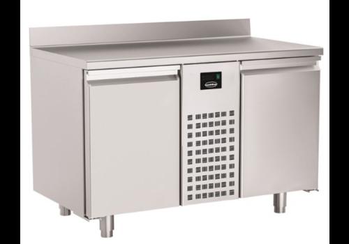 Combisteel Table Réfrigérée Positive | avec Dosseret | Série 700 | 2 à 4 Portes