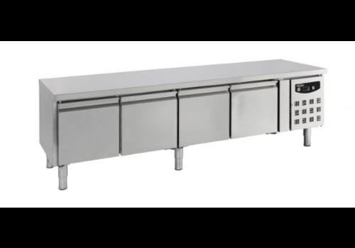 Combisteel Soubassement réfrigéré | 4 portes | GN1/1