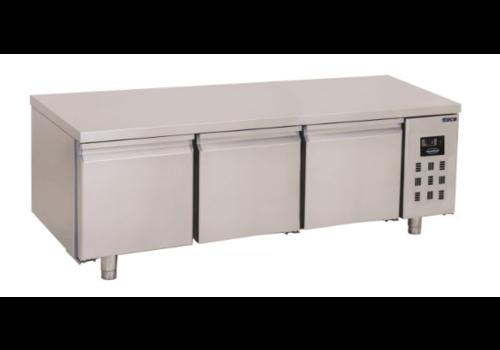 Combisteel Table réfrigérée | 3 portes