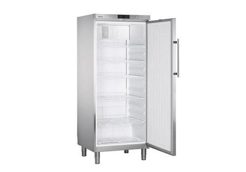 Liebherr GKv 5790 Réfrigérateur sur pieds en acier inoxydable   437 L