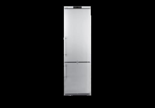 ProChef Réfrigérateur | Congélateur | Inox | 345 L