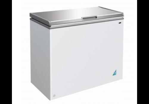 Combisteel Congelateur coffre | 201 L  | Inox