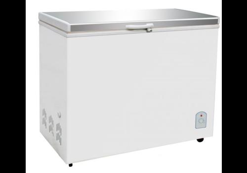 Combisteel Congelateur coffre 260 L avec couvercle inox