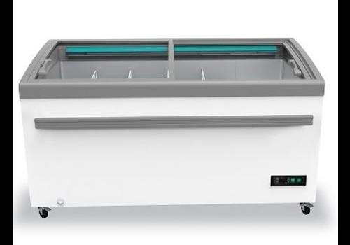 Combisteel Congelateur Vitre Professionnel | 2100 mm
