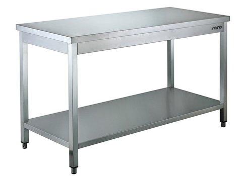 Saro Table préparation   inox   W 1200mm x D 700mm x H 850mm