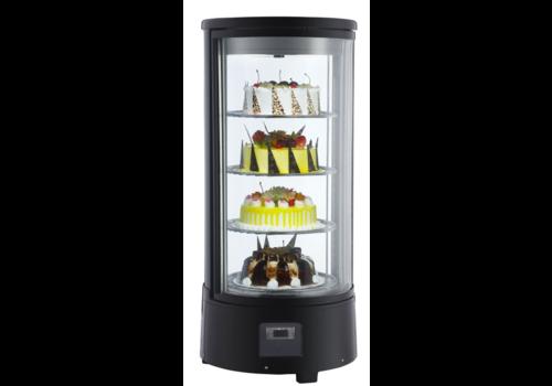 Combisteel Vitrine Réfrigérée à Gâteaux | 72 L Rotative