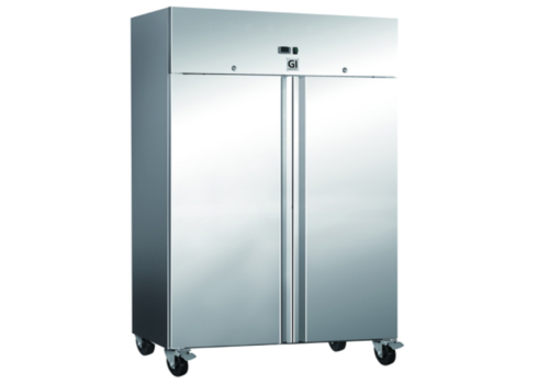 ProChef Refroidissement Gastro-Inox Inox 1200 litres- 2 portes