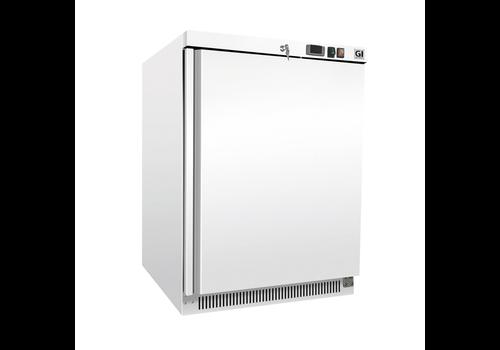ProChef Congélateur en acier blanc | 200 litres | refroidi statiquement