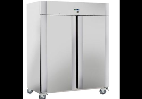 ProChef Réfrigérateur en acier inoxydable de 1400 litres avec deux portes