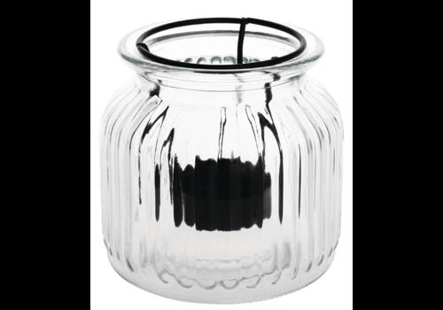 Olympia Photophores style lanterne | lot de 6 | 105(H) x 110(Ø)mm