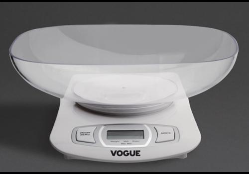 Vogue Balance compacte | Capacité 5kg | Graduation 1g
