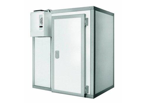 ProChef Chambre froide Professionnelle | 135x135x220cm | Plage de température 0 / +10 degrés