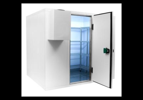ProChef Chambre froide Professionnelle | 225x225x220 cm | Plage de température 0 / +10 degrés