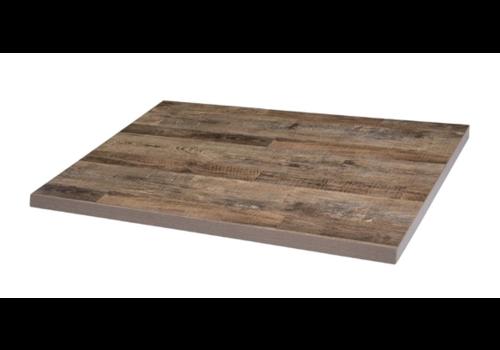 Bolero Plateau de table rectangulaire pré-percé   1100 (L) x 700 (P) mm