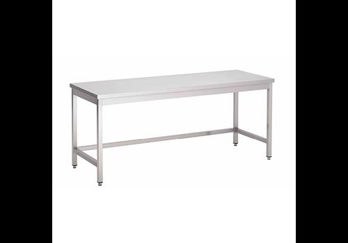 ProChef Acier inoxydable table de travail sans étagère