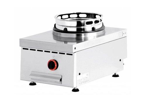 Diamond Feu wok gaz de Comptoir   1 feu   15kW   40(L)x60(P)x28(H)cm
