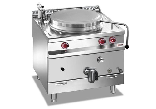 Marmite gaz | cuve 150 litres | chauffage direct | 80(L)x90(P)x85/92(H)cm