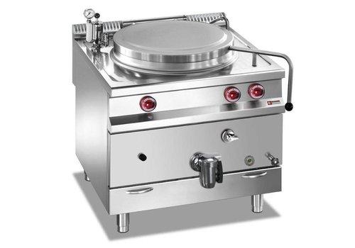 Marmite gaz | cuve 100 litres | chauffage indirect | 80(L)x90(P)x85/92(H)cm