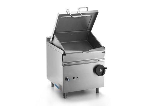 Saro Cocotte à gaz Basculante | 50 litres | 12 kW | 80(L)x70(P)x 85(H)cm