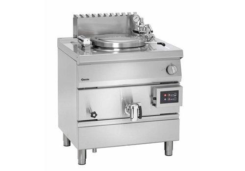 Bartscher Marmite à Gaz Inox | 15,5kW | Chauffage Indirecte | 55 Litres
