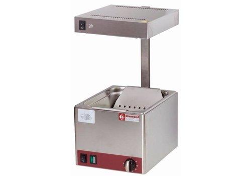 Diamond Bac de Salage pour Pommes-Frites   Top   Infrarouge   1/2GN   270x330x(H)500mm