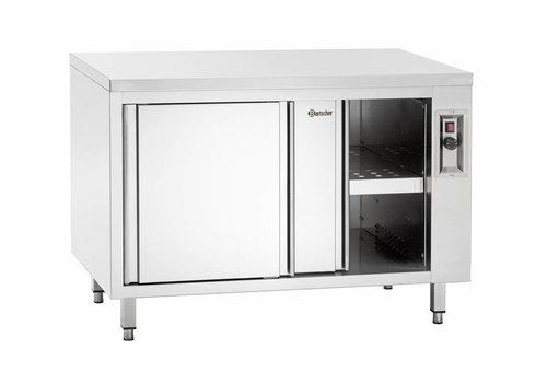 Bartscher Armoire Chauffante   Portes Coulissantes   2 Kw   160x70x(h)85 / 90cm