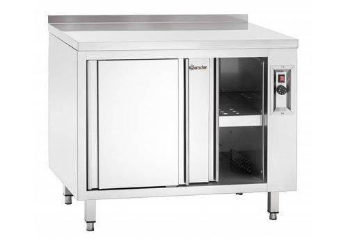 Bartscher armoire Chauffante   Portes Coulissantes   2 Kw   200x70x(h)85 / 90cm
