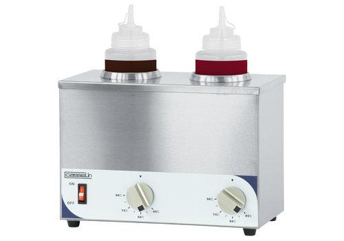 ProChef Chauffe-Sauce 2 Bouteilles   400 W   L 307 x P 165 x H 230 mm