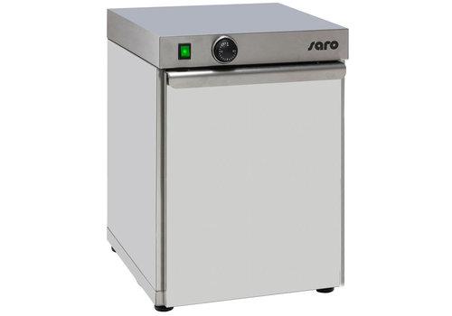 Saro chauffe-assiette | capacité pour 30 assiettes 0,4 kW | 40x46x (H) 57cm