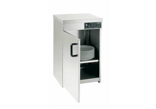 Bartscher armoire Chauffante Inox | 25-30 Assiettes de Ø320mm | 400W | 40x40x54,5(h)cm