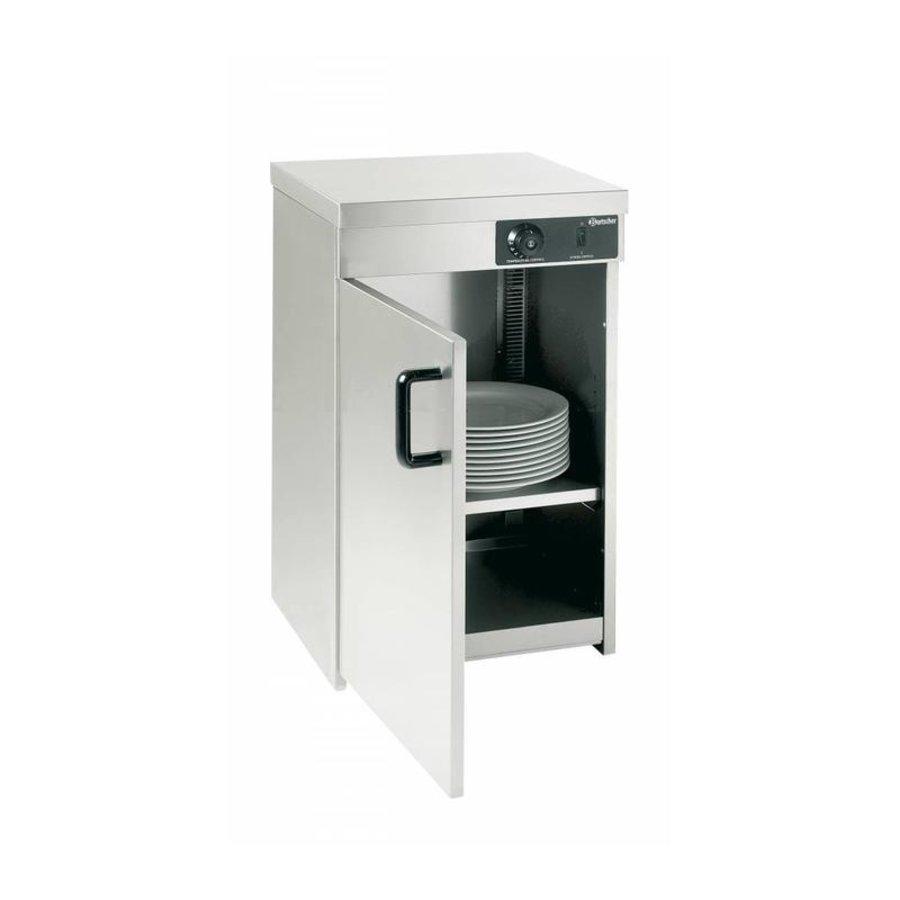 armoire Chauffante Inox   25-30 Assiettes de Ø320mm   400W   40x40x54,5(h)cm