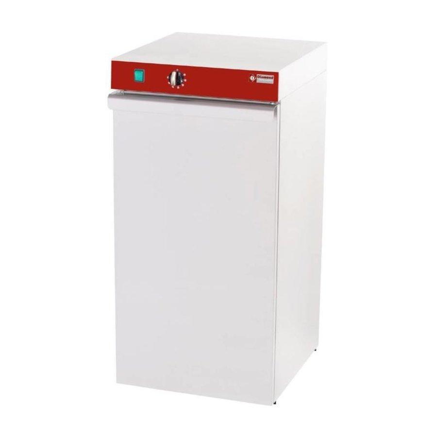 armoire chauffe-assiettes | 60 assiettes | 30/90 degrees | 40x46x(H)87 cm