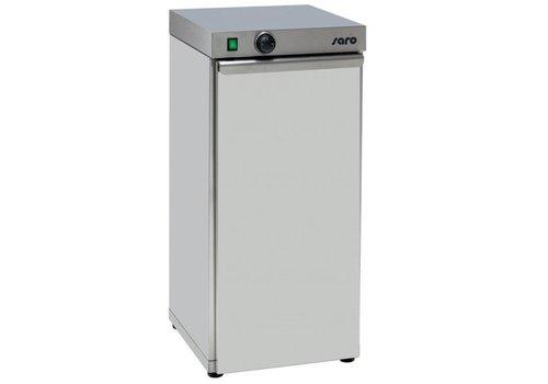 Saro chauffe-assiette | capacité pour 60 assiettes | 0,75 kW | 40x46x (H) 87 cm
